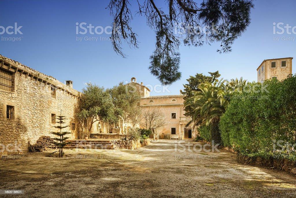 Finca on the Island of Majorca stock photo