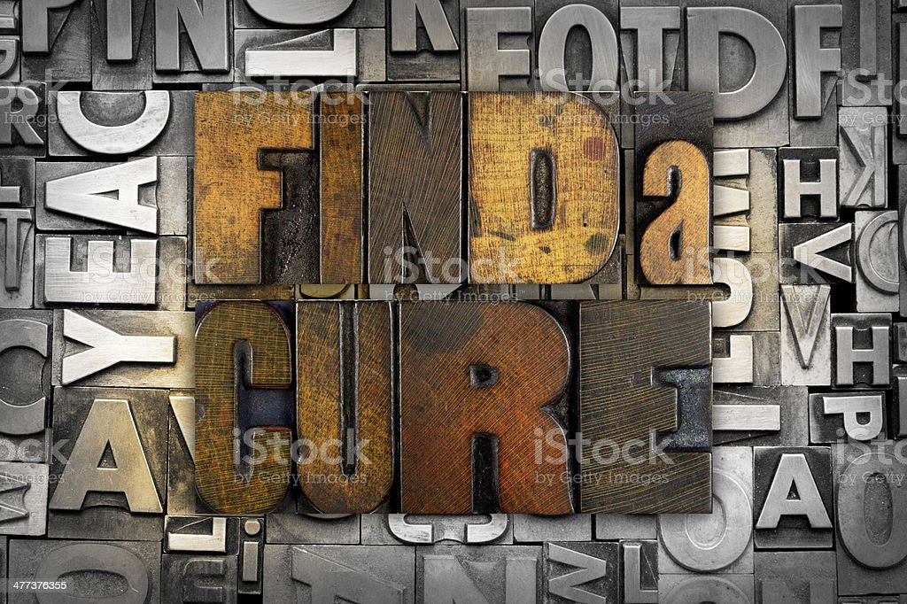Find a Cure stock photo