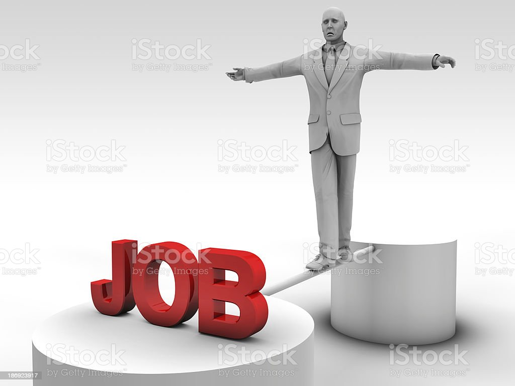Find a job royalty-free stock photo