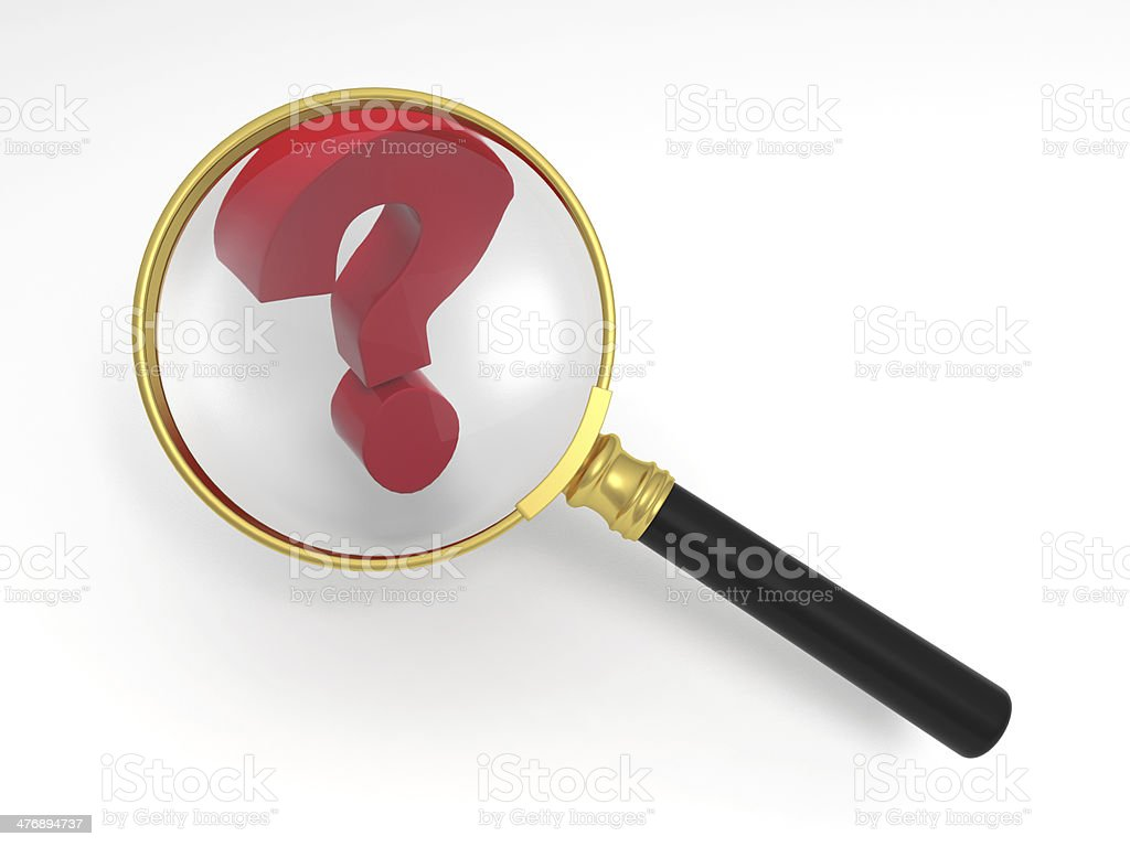 Find answers royalty-free stock photo