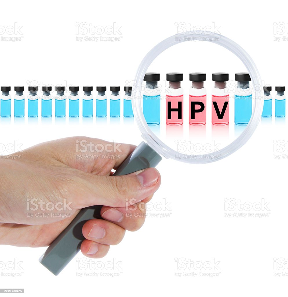 Find HPV vaccine stock photo