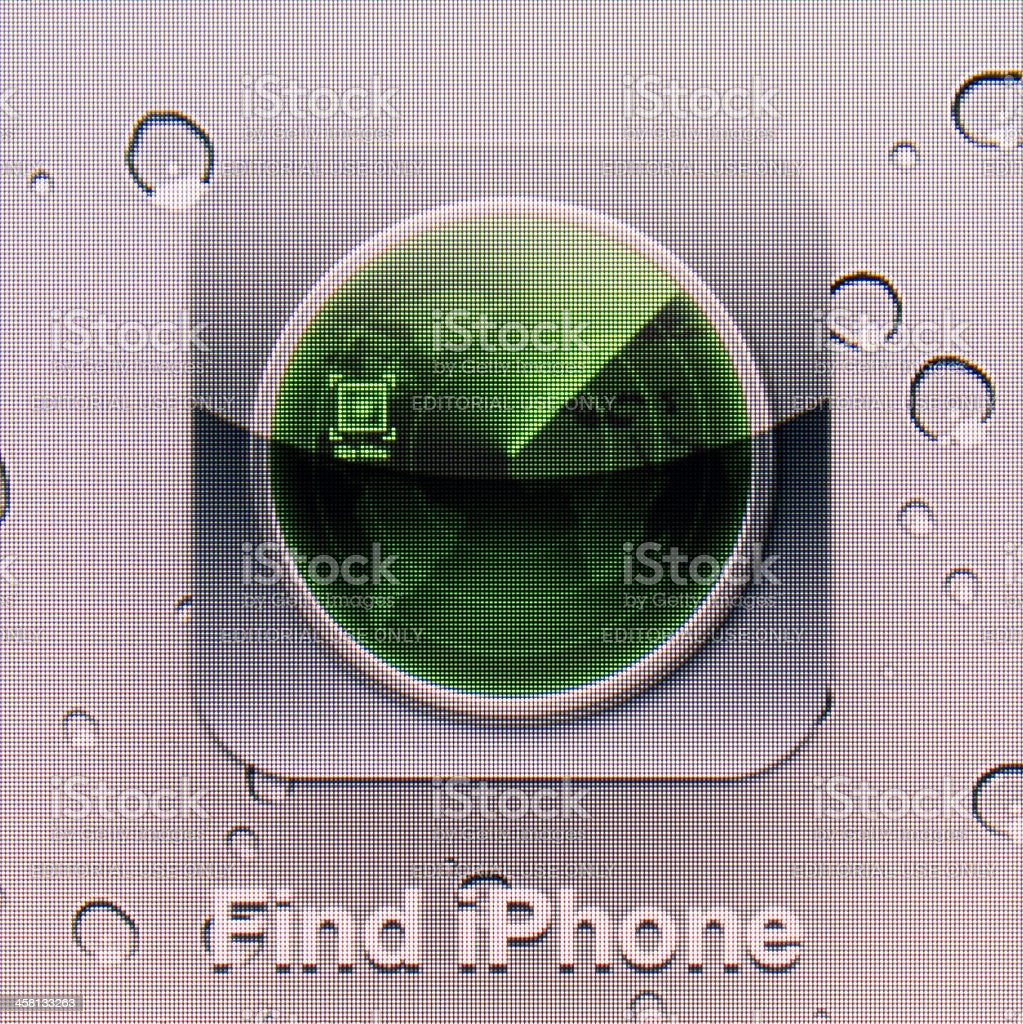 Find iPhone royalty-free stock photo