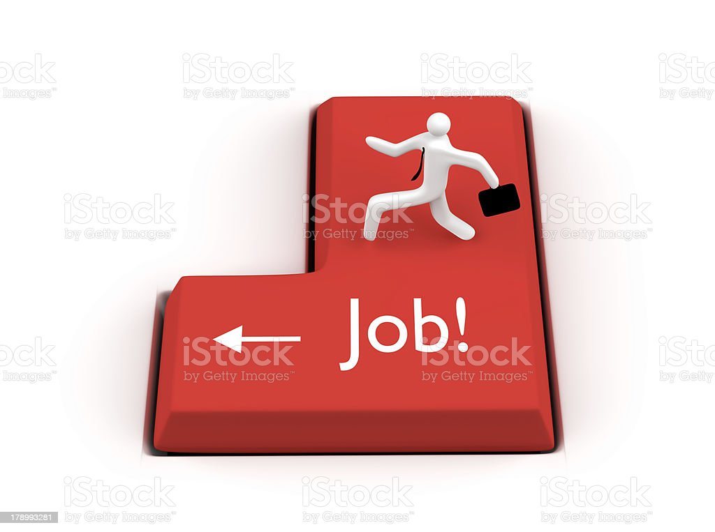Find job concept royalty-free stock photo