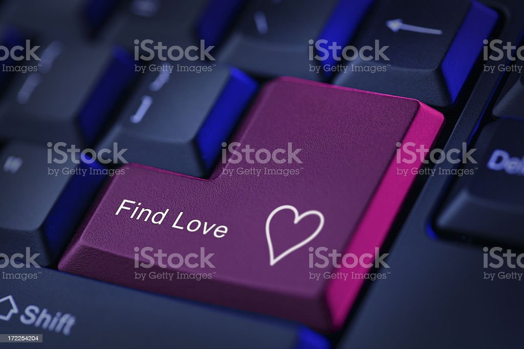Find Love royalty-free stock photo