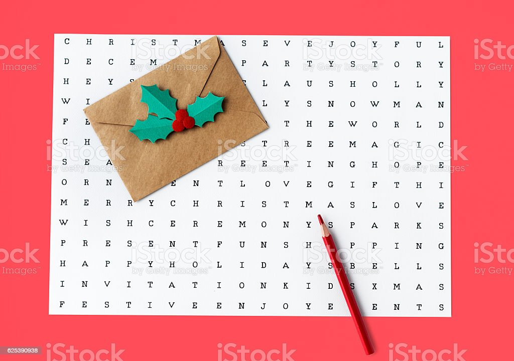Find Search Words Game Concept stock photo