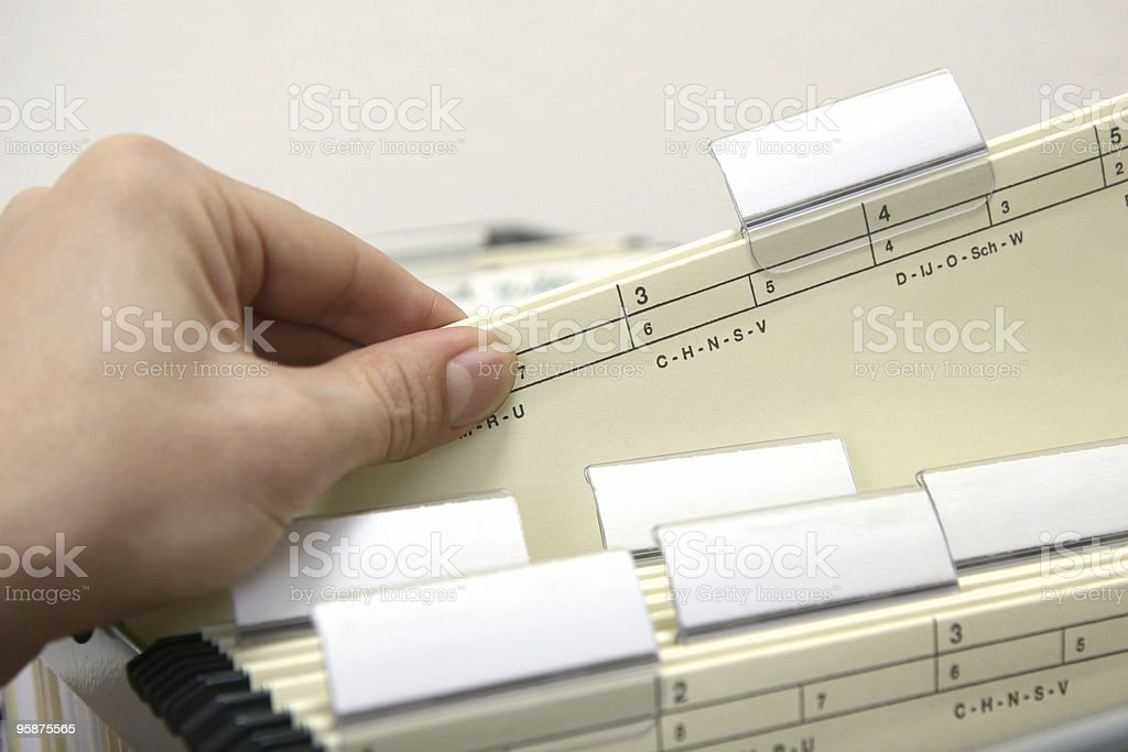 find the file stock photo