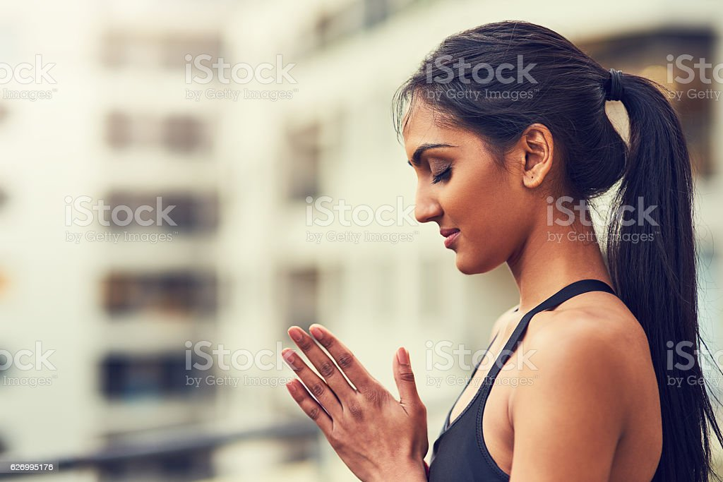 Find the peace within stock photo