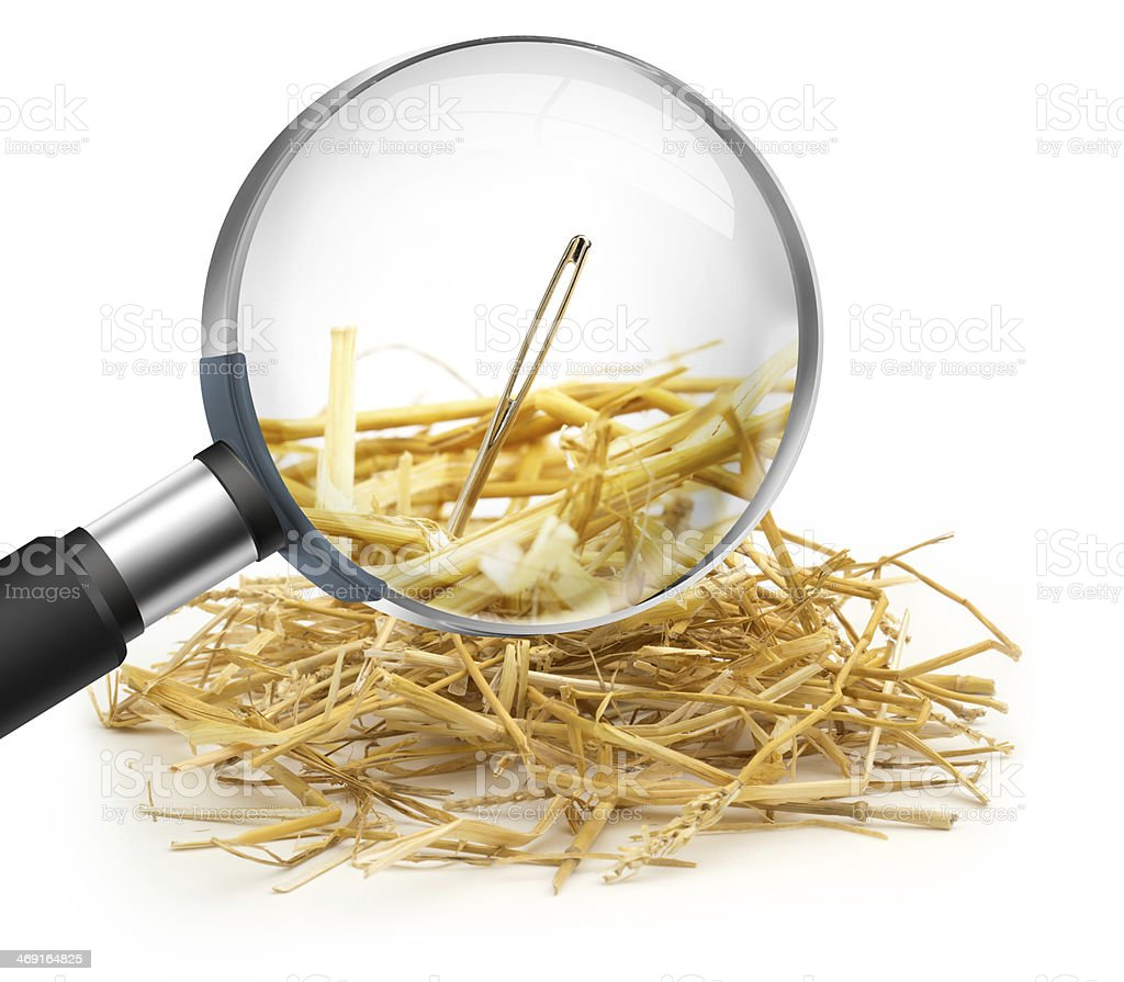 find the solution stock photo