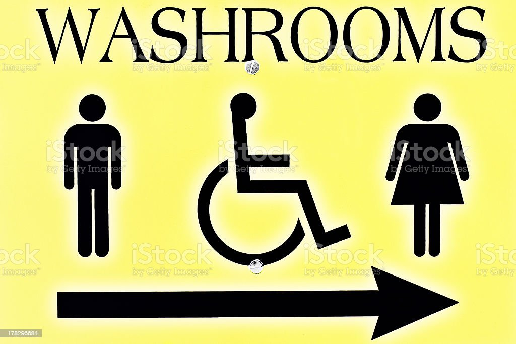 Find the Washroom royalty-free stock photo