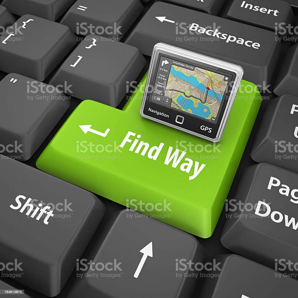 find way royalty-free stock photo
