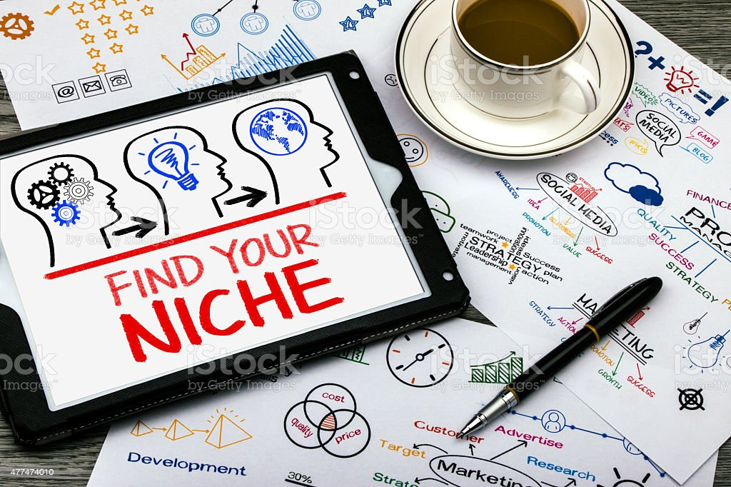 find your niche stock photo