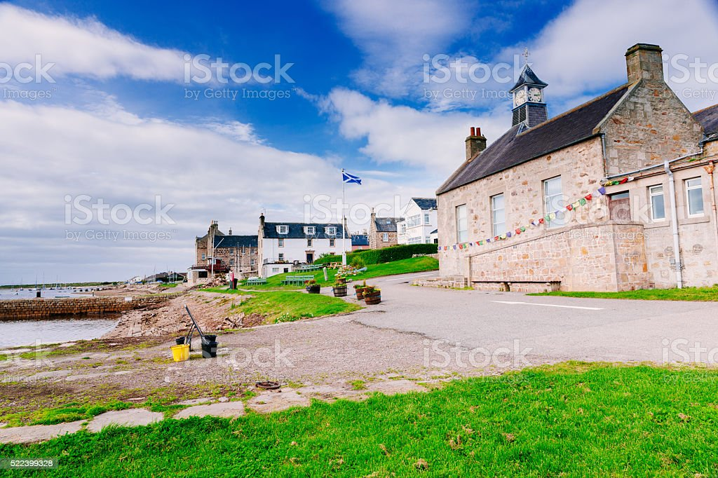 Findhorn, Moray District, Northern Scotland stock photo