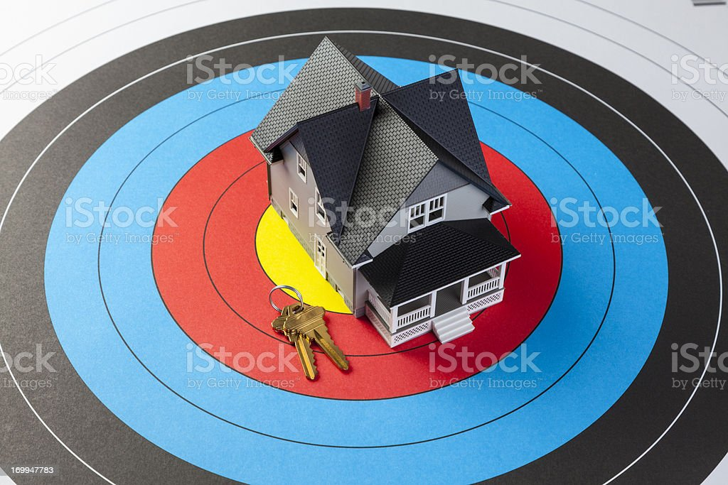Finding A Home stock photo