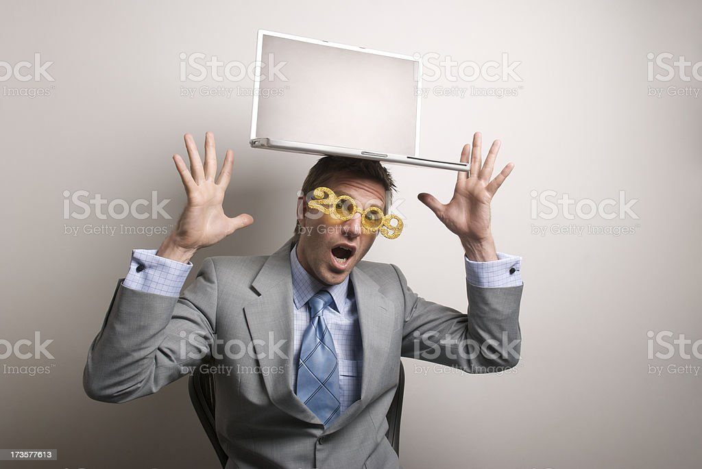 Finding Balance in 2009 stock photo
