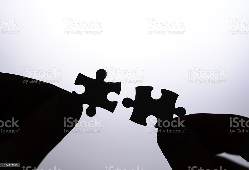 finding business strategy royalty-free stock photo