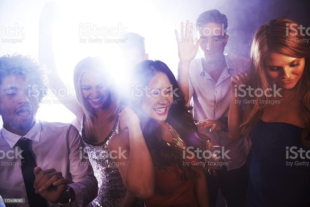 Finding freedom in the music! royalty-free stock photo