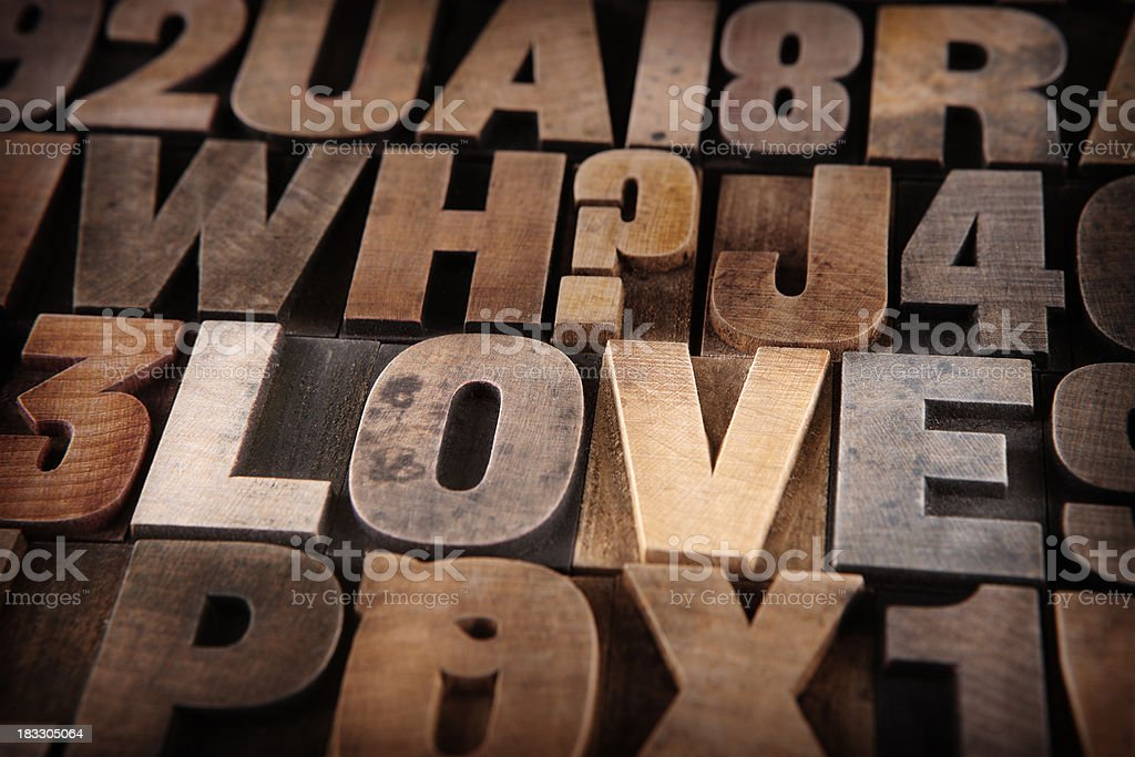 Finding Love stock photo