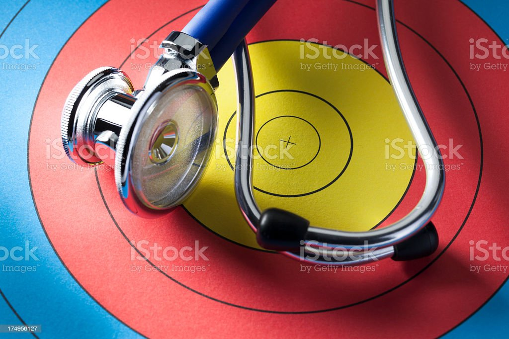 Finding Medical Solutions royalty-free stock photo