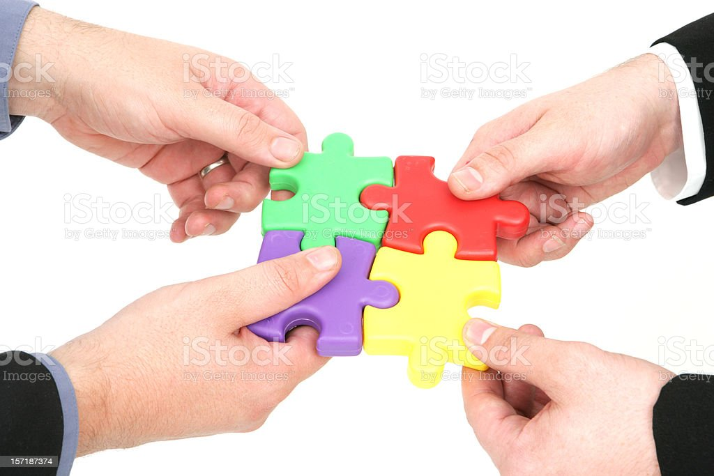 Finding Solutions royalty-free stock photo