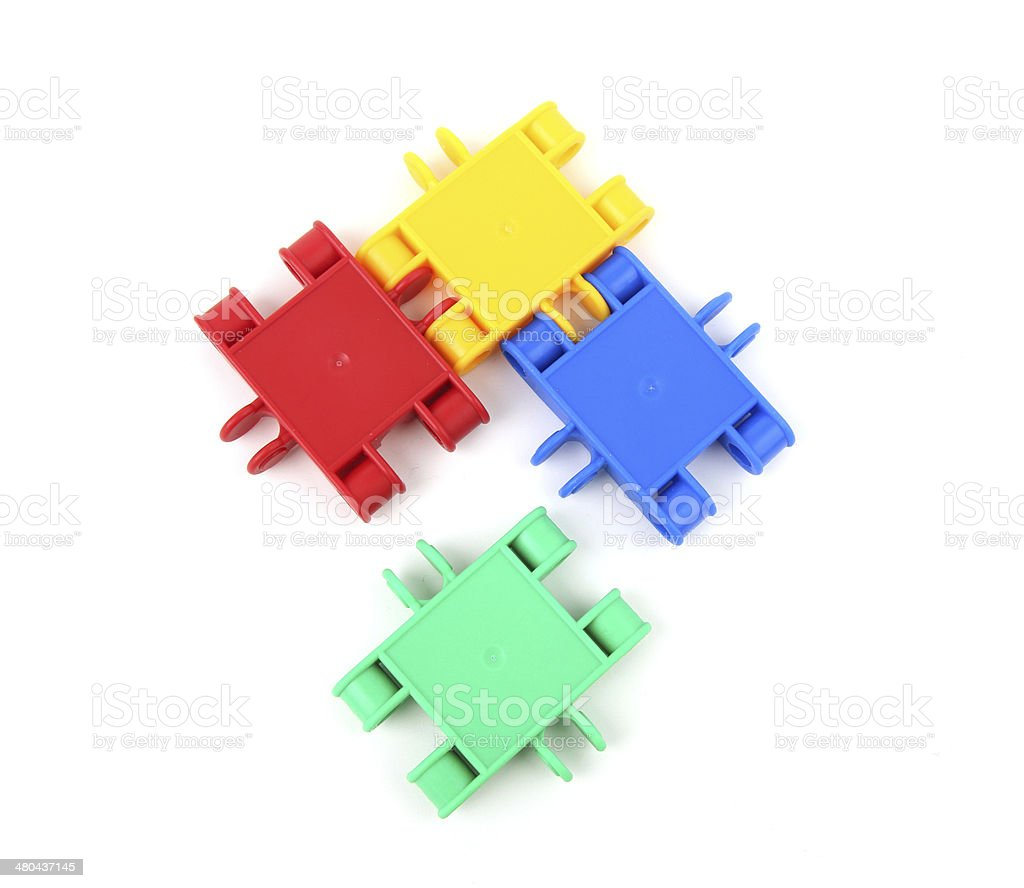 Finding the missing piece royalty-free stock photo