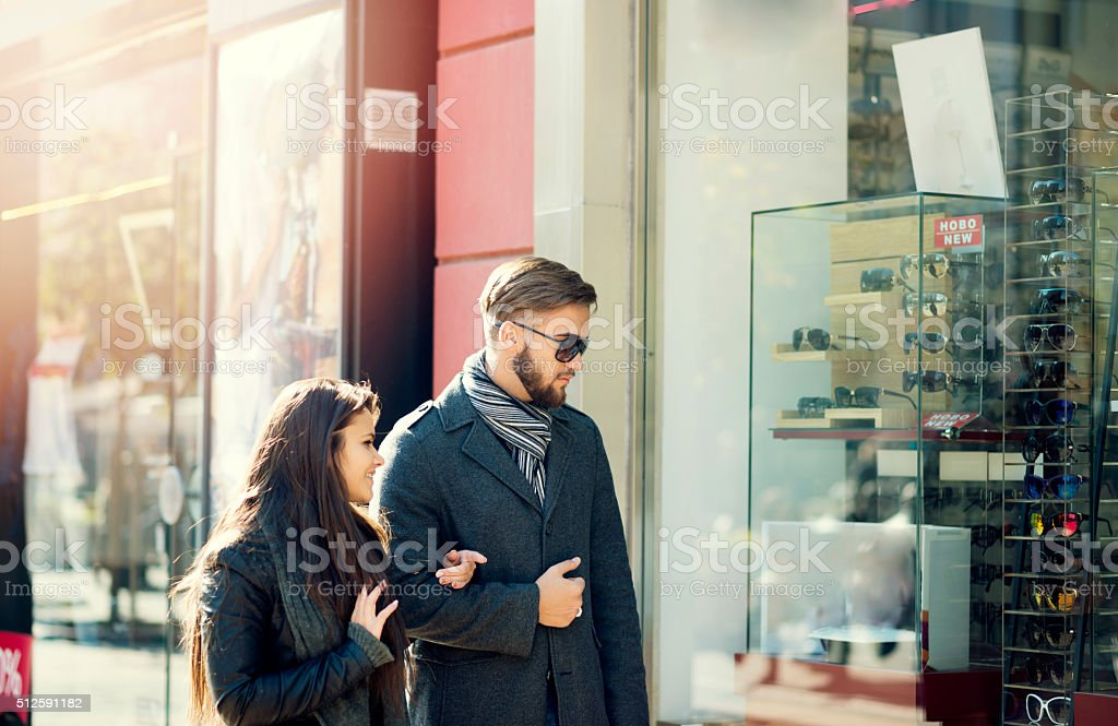 Finding the next store stock photo