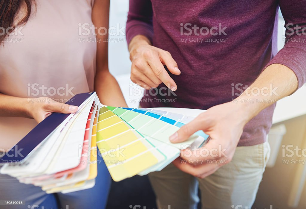 Finding the perfect color stock photo