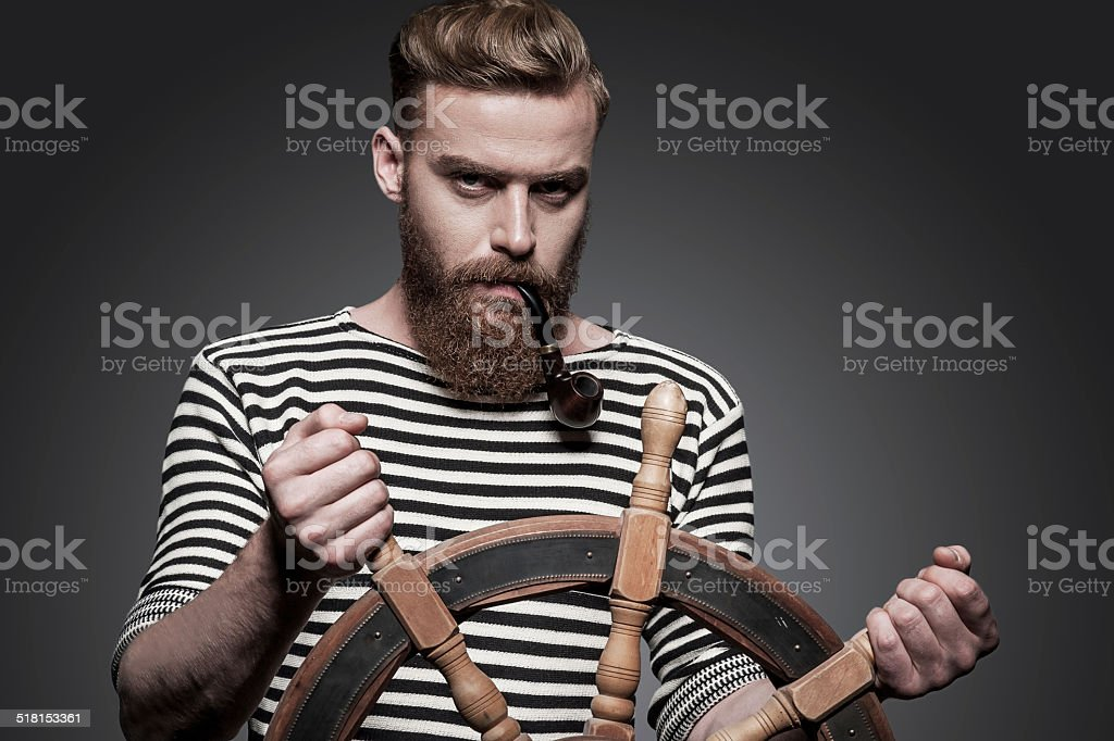 Finding the right way. stock photo