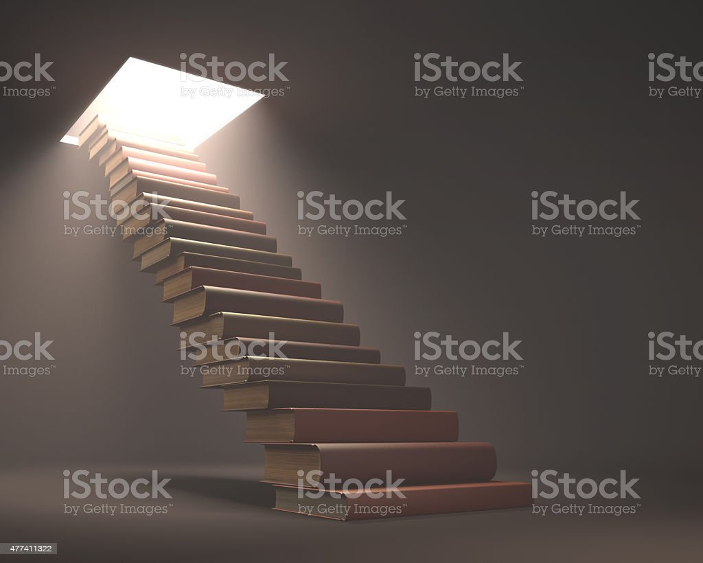 Finding The Way stock photo