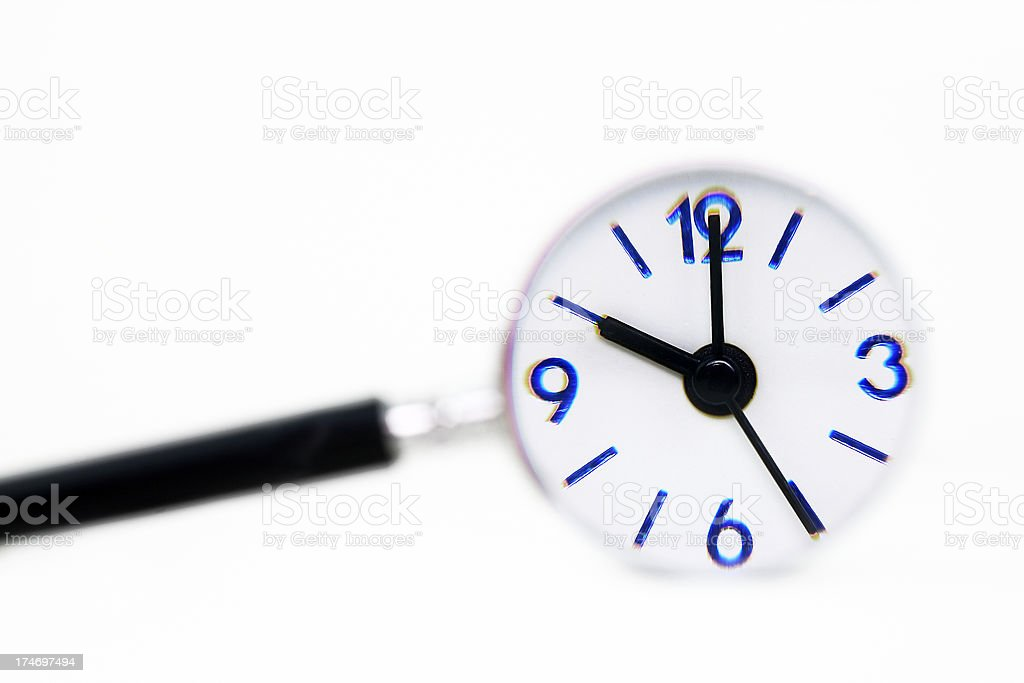 Finding time royalty-free stock photo