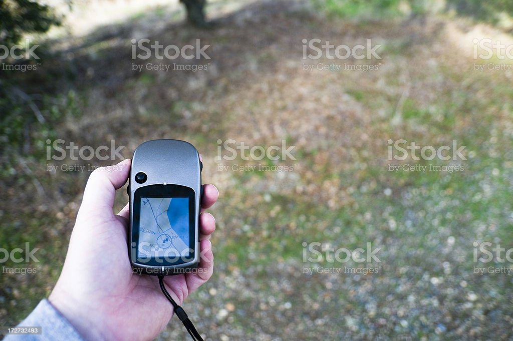 Finding Your Way royalty-free stock photo