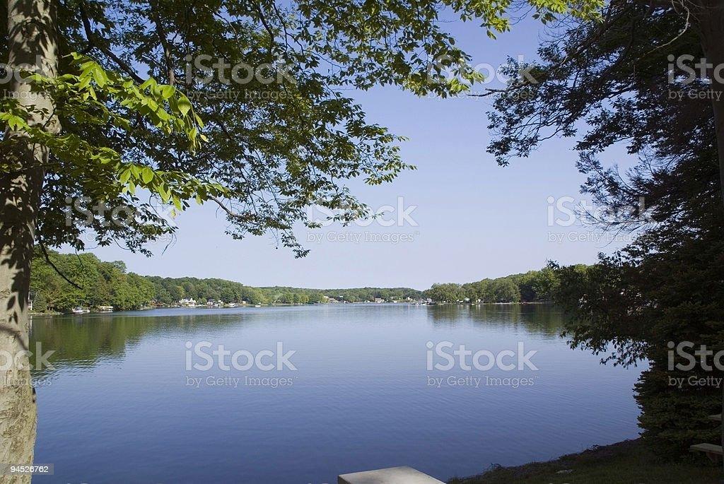 Findley Lake royalty-free stock photo
