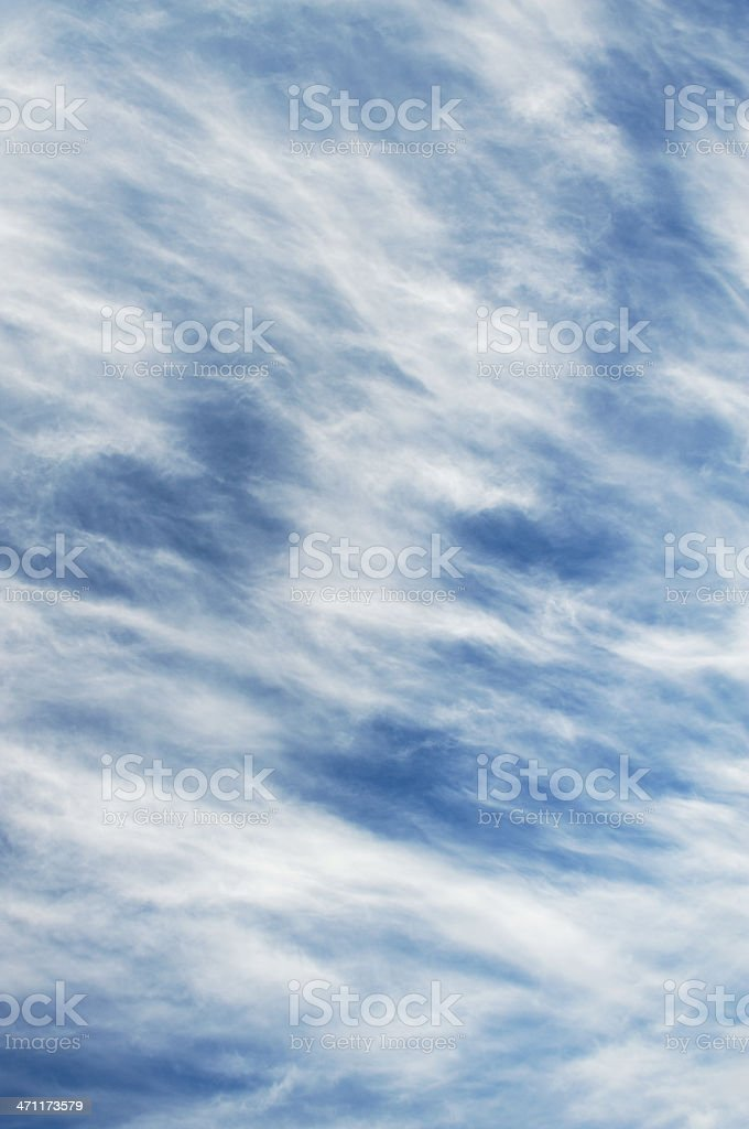 Fine clouds royalty-free stock photo