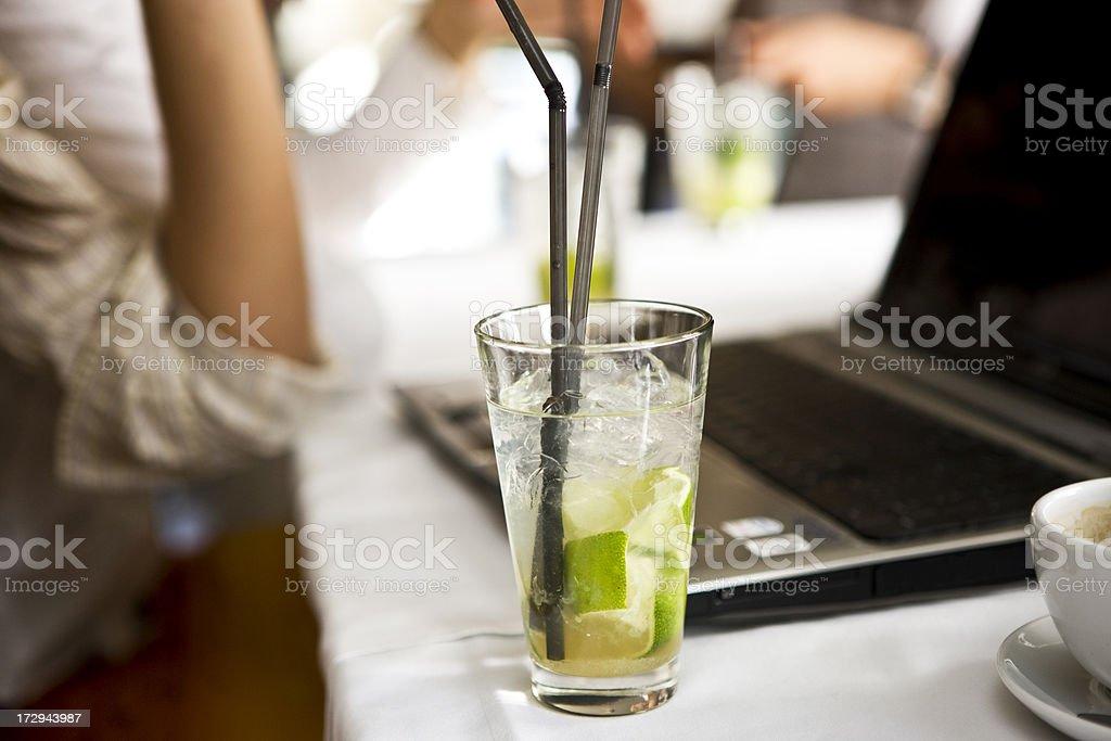 Fine Cocktail stock photo