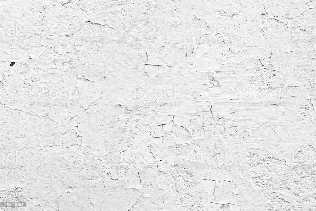 fine cracked white wall background stock photo