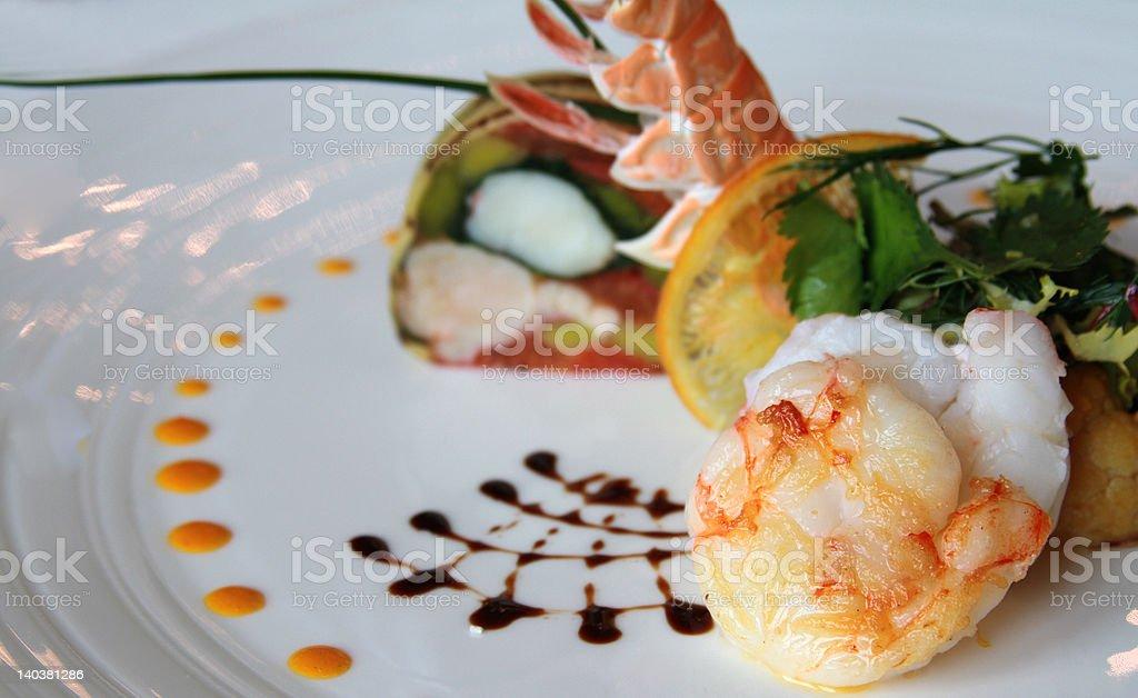 Fine Cuisine royalty-free stock photo