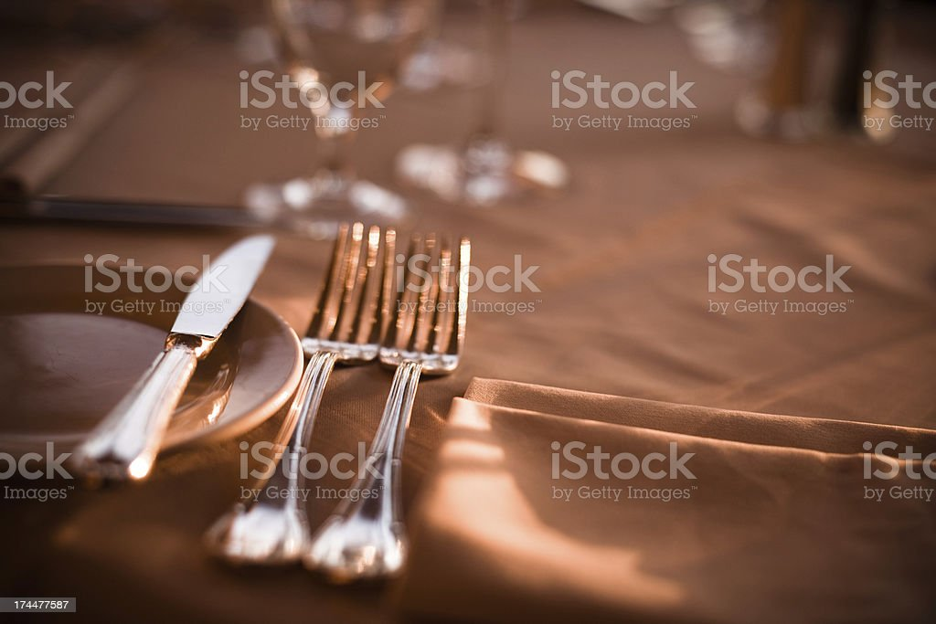 Fine Dining stock photo