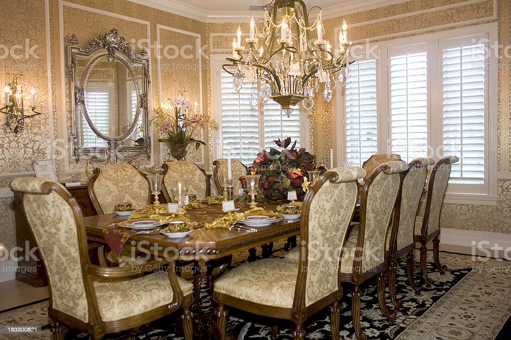 Dining Room Interior.