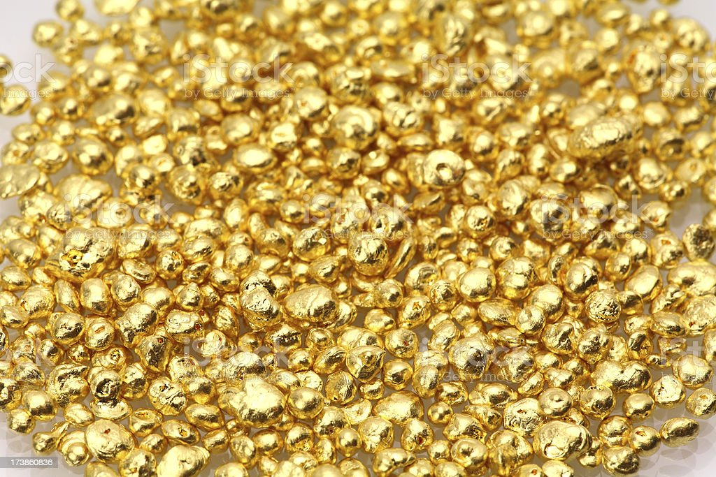 Fine Gold Grain stock photo