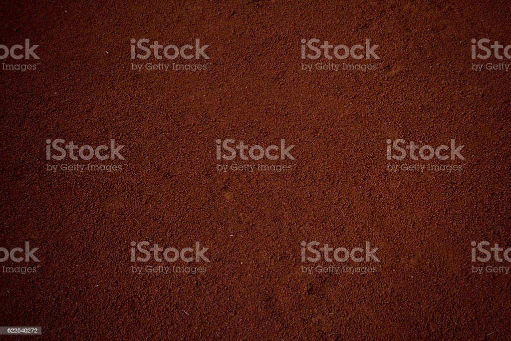 Fine soil stock photo