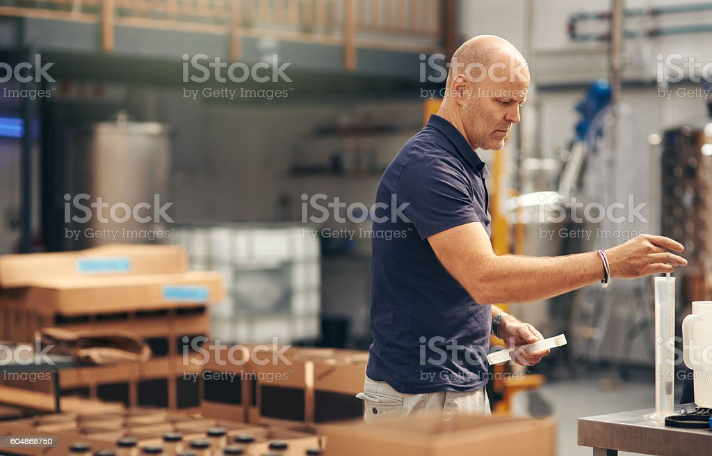 Fine tuning the batch stock photo