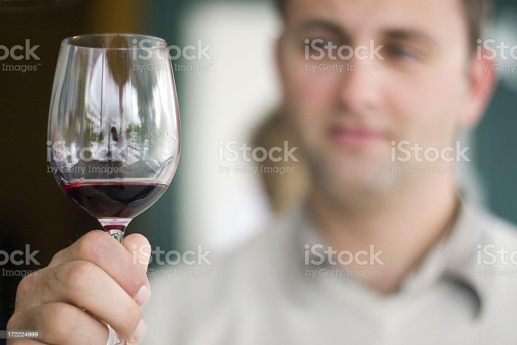 Fine Wine royalty-free stock photo
