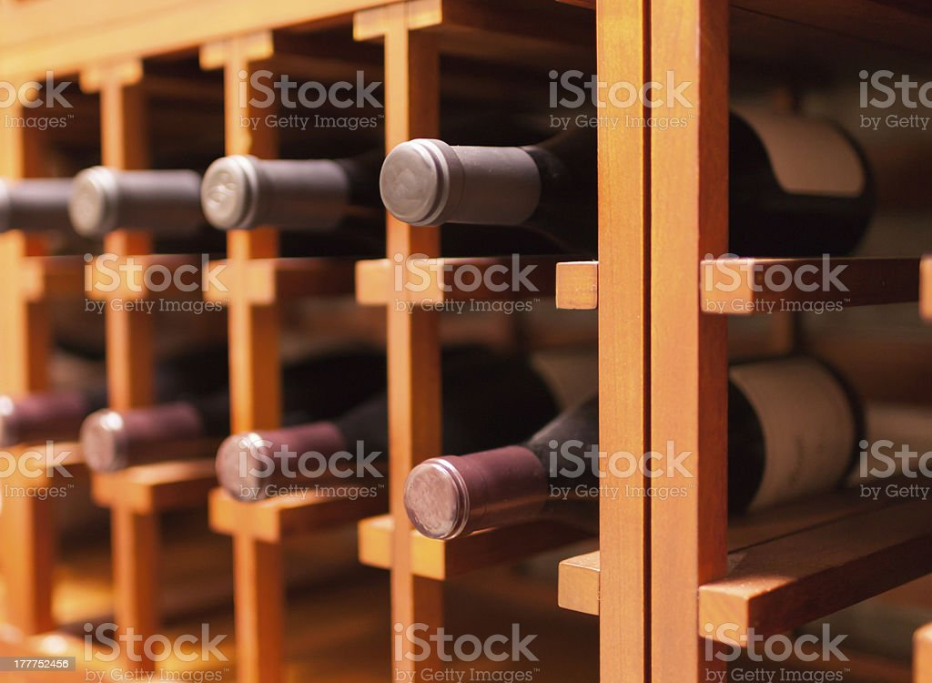 Fine wines royalty-free stock photo