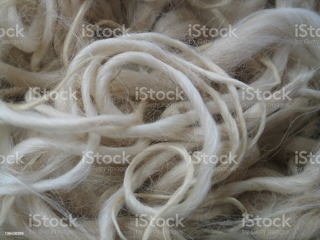 Fine Wool royalty-free stock photo