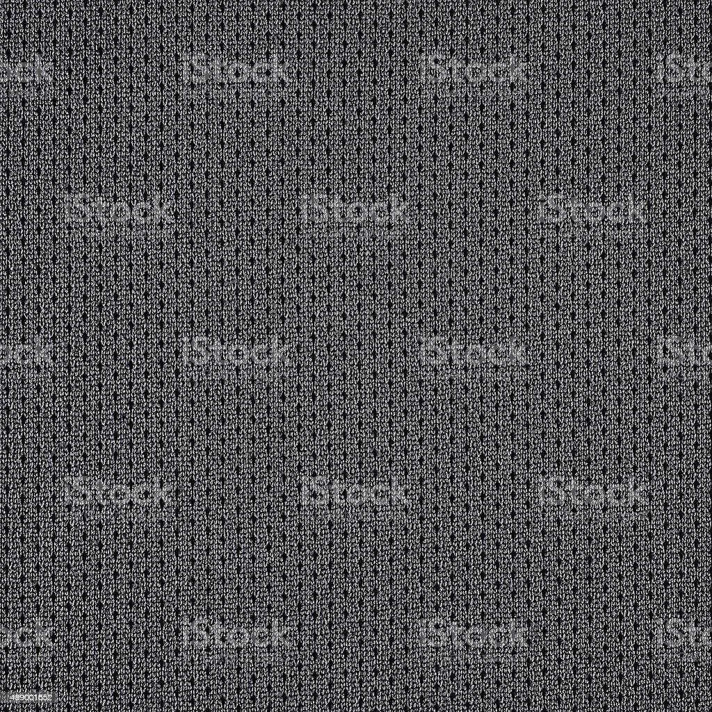 Fine woven grey white fabric texture background stock photo