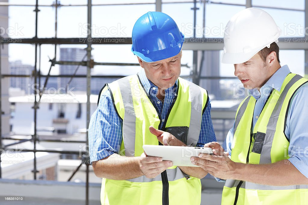 Finely tuned building solutions royalty-free stock photo
