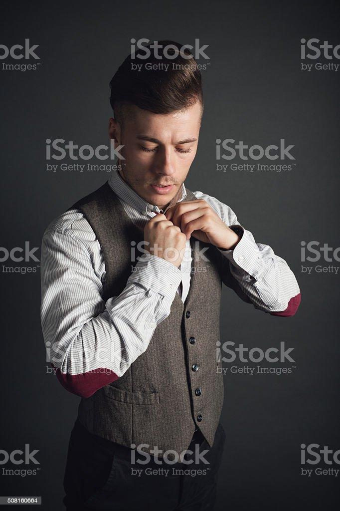 Finest Dress Code stock photo