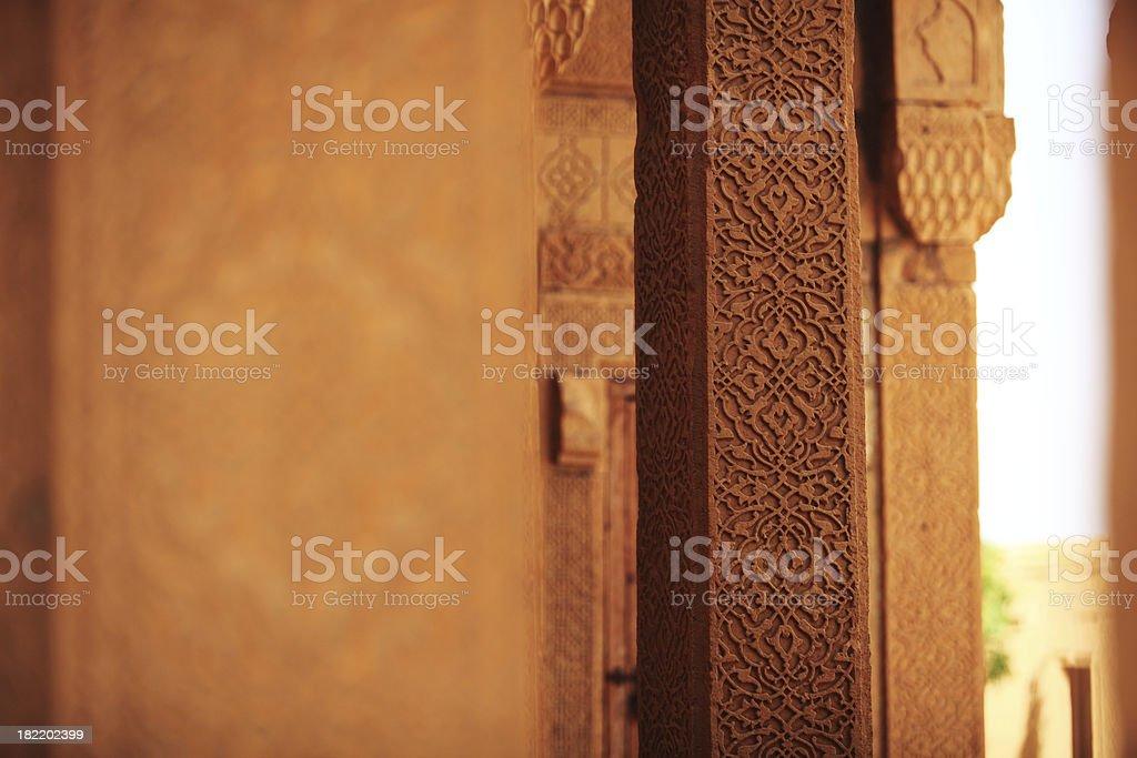 Finest Islamic Architecutre stock photo