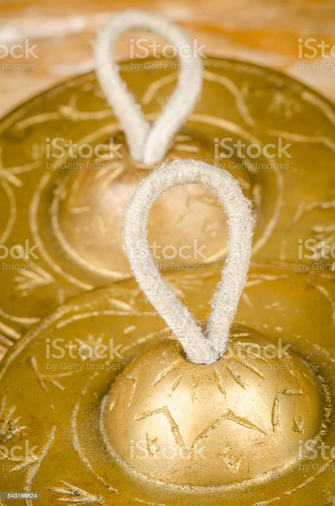 Finger Cymbals stock photo