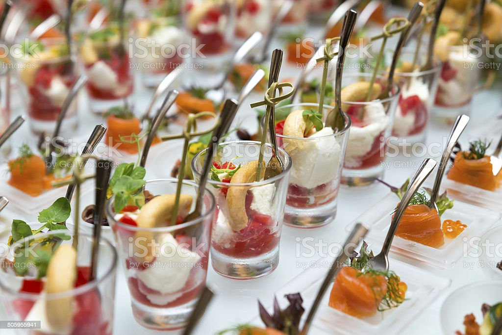 Finger Food Appetizer royalty-free stock photo