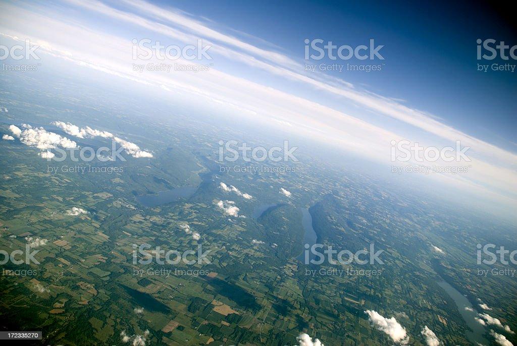 Finger Lakes royalty-free stock photo